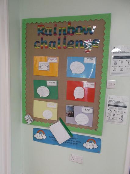 The Rainbow Challenges