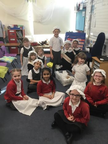 Learning about Florence Nightingale
