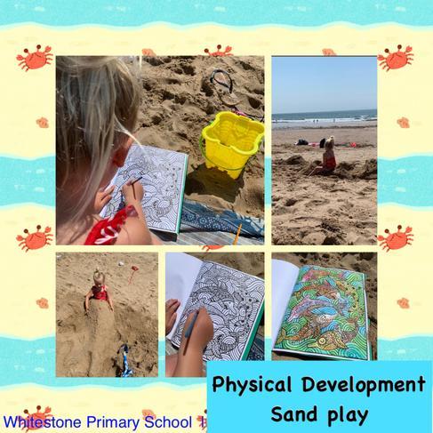 Sand play. FR