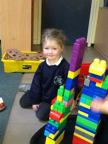 Can you build a a tower taller than you?