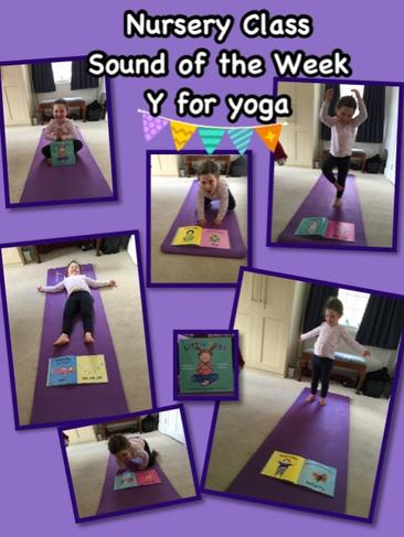 Y is Yoga! Bendigedig!