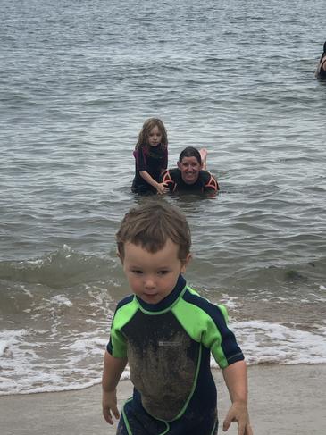 Surf's up EG, FG and Mummy!