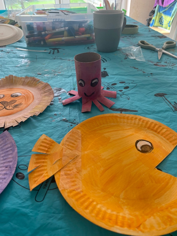 Under the sea fun at home! RP