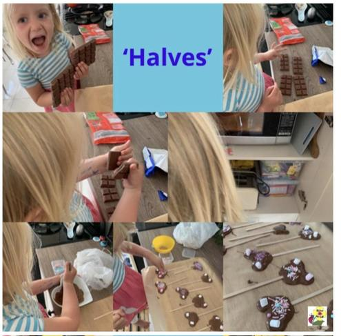 Halving your lollies! FR