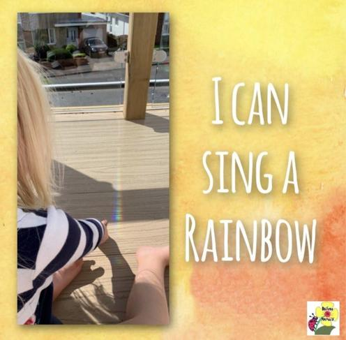 FR can sing a rainbow in Welsh.