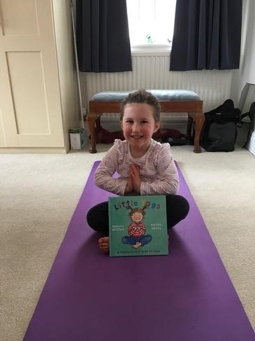 Y is for Yoga!