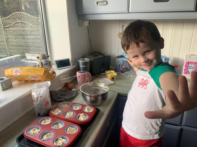 B is for baking. RP