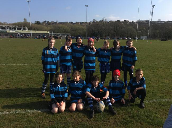 Rugby Club: year 4-6 Monday 3.20-4.20