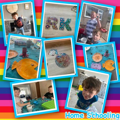 Home school family fun- hyfryd pawb! RP