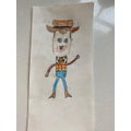 Isla's Woody drawing