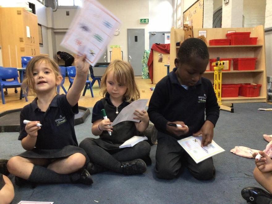 We learnt that we love playing bingo!