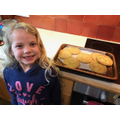 Emily doing more baking!