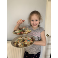 Chloe did some Easter baking!