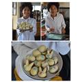 Uzuri making some Easter treats