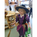 We loved dressing up and witches and skeletons