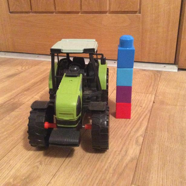 How tall is the tractor?