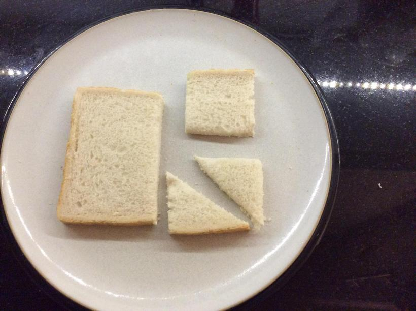 What shapes are these sandwiches?