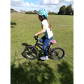 Keep cycling, Tillie.  It's great exercise.