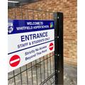 Child Entrance only form the Richmond Estate