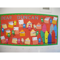 Display of our letters to Duncan