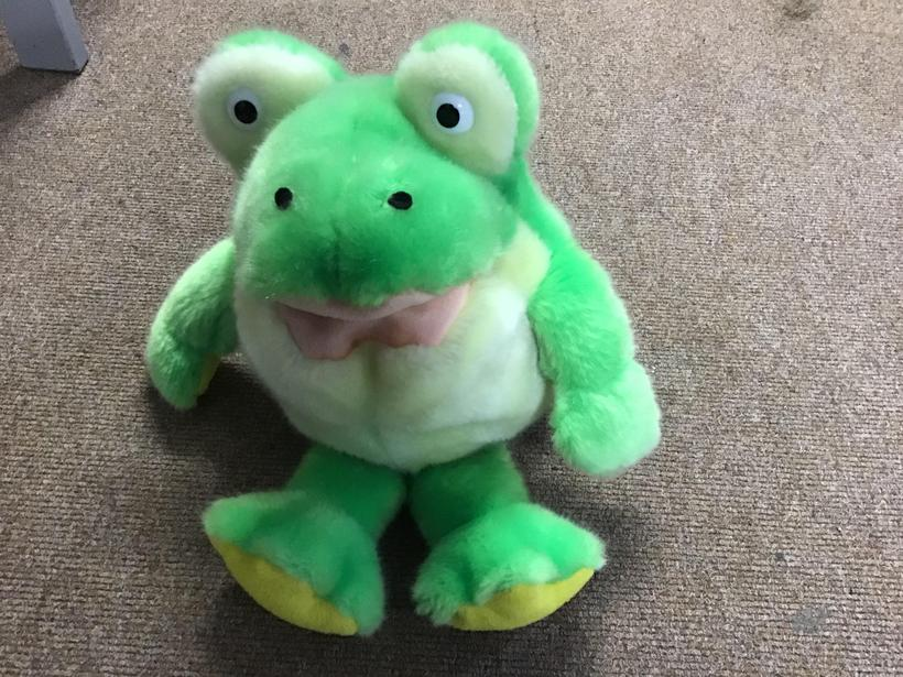 Is the toy frog hard or soft?