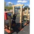 The play area in action!