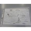 Sketching Robinson Crusoe's island