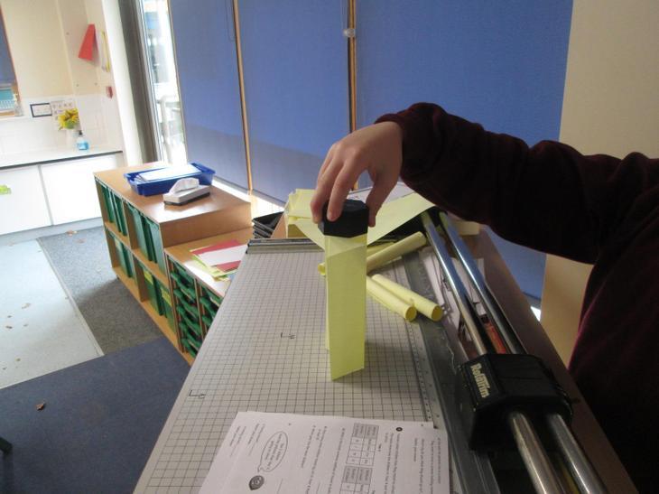 Zig zag paper tall - fail!