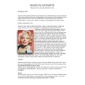 Polly's Icon Marilyn Monroe