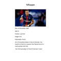 Teddy's Football Icon M Bappe