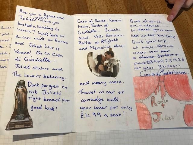 Morgan's Romeo and Juliet inspired Verona leaflet
