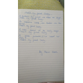 Maisie's lovely poem about her friend Daisy
