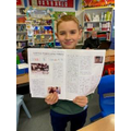 Harry Potter Newspaper report writing.