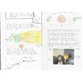 Lovely work on your earth& sun investigation task