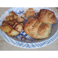 Homemade Sausage Rolls - looking delicious Teddy