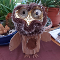 Love your recycled owl Dorcas