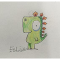 Felix - love your Gregosaurus