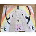 Arwen's Iconic drawing of Yoko Ono