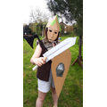 'Endowed' Anglo Saxon Warrior!