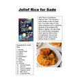 Iris's English: Jollof Sade