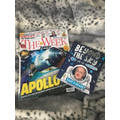 Miss L's reading material: can you guess the theme