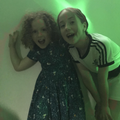Sisters having a ball at the  Endowed FM Disco!
