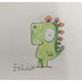 Felix - love your Gregosaurus