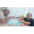 Dad & Daughter Taking over the Monopoly world!