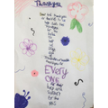 Isla's Thankful Prayer