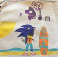 Arty Arwin's Sonic Hedgehog with Bob