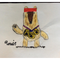 Superb - Fred the Bear by Louis