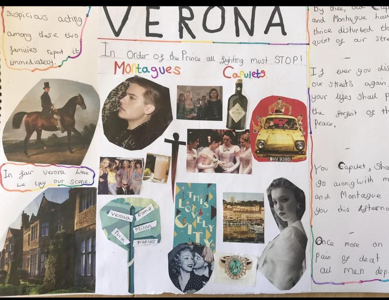 Frankie's lovely montage of A Guide to Verona