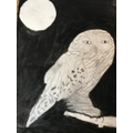 Stunning Owl Art by Mae
