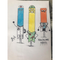 Miss L's drawings - would love to see yours
